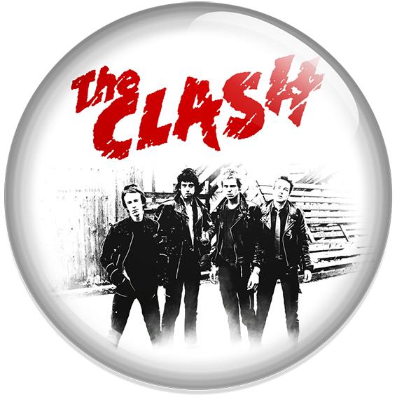 Chapa The Clash Blanca