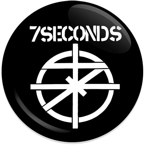 Chapa 7 seconds negra