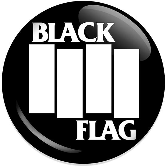 Chapa Black flag Negra