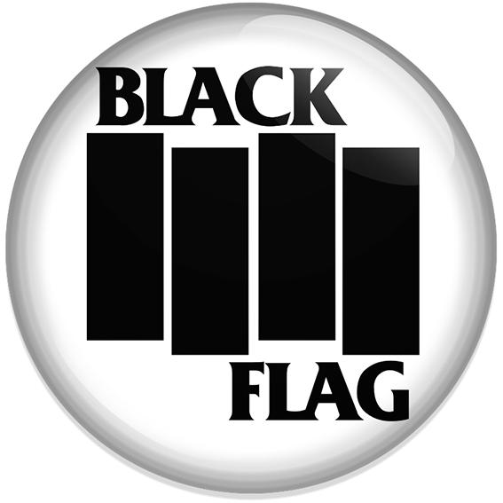 Chapa Black flag Blanca