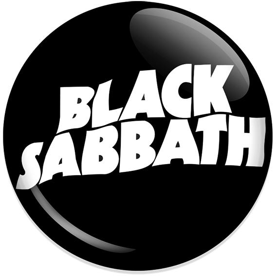 Chapa Black Sabbath Logo