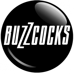 Chapa Buzzcocks Negra Logo