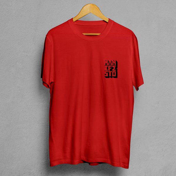 Camiseta Manifesto Logo Roja Hombre
