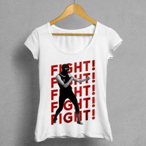 Camiseta Manifesto -FIGHT-FIGHT-FIHT-FRONT-mujer
