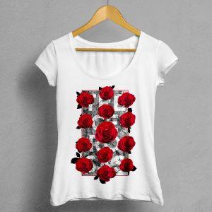 Camiseta Manifesto Trece Rosas Mujer
