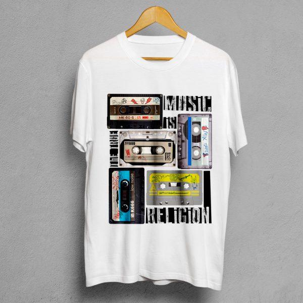 Camiseta Manifesto Mixtape Blanca Hombre