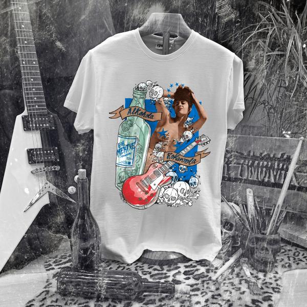 Camiseta Ramonak Eh Mertxe Blanca Hombre
