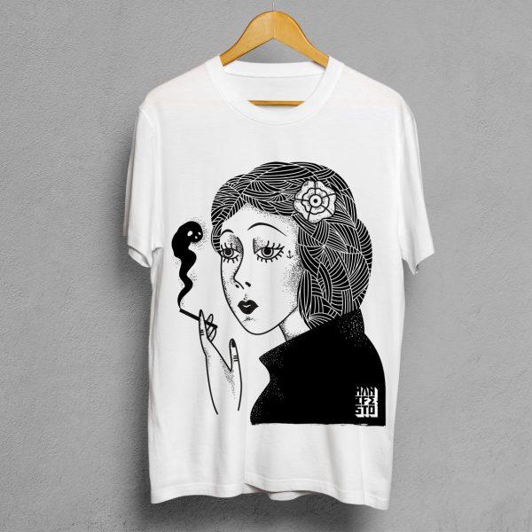 Camiseta Manifesto Smoke Hombre