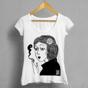 Camiseta Manifesto Smoke Mujer