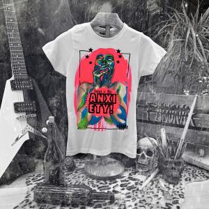 Camiseta Ramonak Miss Anxiety Blanca