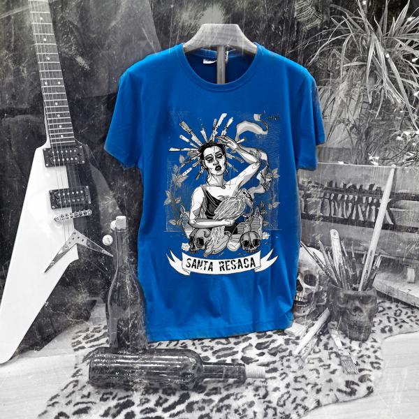 Camiseta Ramonak Santa Resaca azul hombre