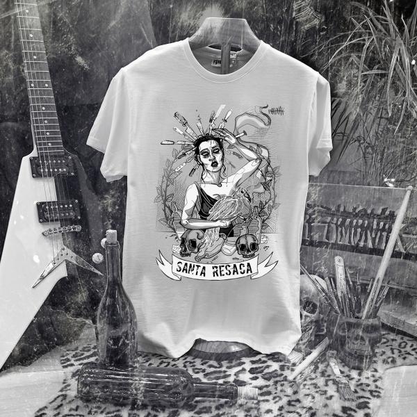 Camiseta Ramonak Santa Resaca blanca hombre