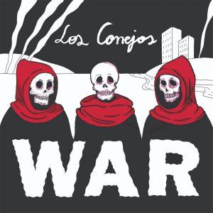 LP LOS CONEJOS WAR PORTADA