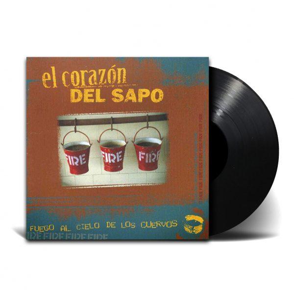 LP EL CORAZON DEL SAPO_FUEGO AL CIELO_MOCKUP